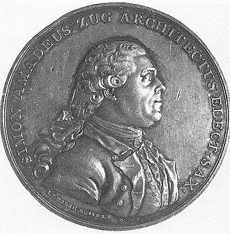 Szymon Bogumił Zug - Szymon Bogumił Zug, 1781