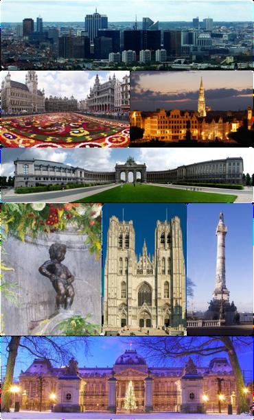 Brüssel Sehenswürdigkeiten Karte.Brüssel Wikipedia