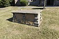 THREE CHEST TOMBS IN CHURCHYARD TO SOUTH OF ENTRANCE TO CHURCH OF ST MARY 3.jpg