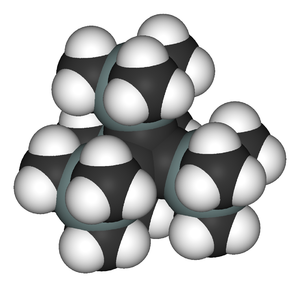 Tetrahedrane - Tetra(trimethylsilyl)tetrahedrane is relatively stable