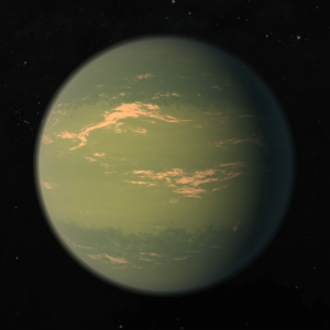TRAPPIST-1g - Artist's impression of TRAPPIST-1g.