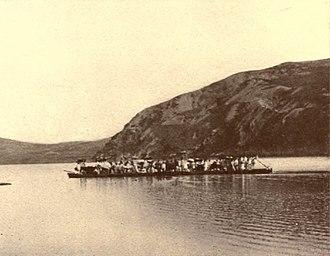 Taedong River - Image: Taedong river 1889