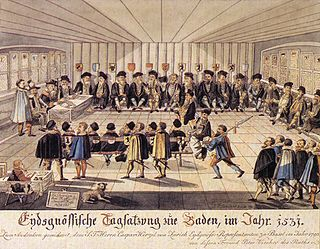 legislative and executive council of the Swiss Confederacy which existed in various forms since the beginnings of Swiss independence until the formation of the Swiss federal state in 1848