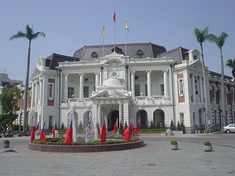 Taichung - Taichung's historic city hall