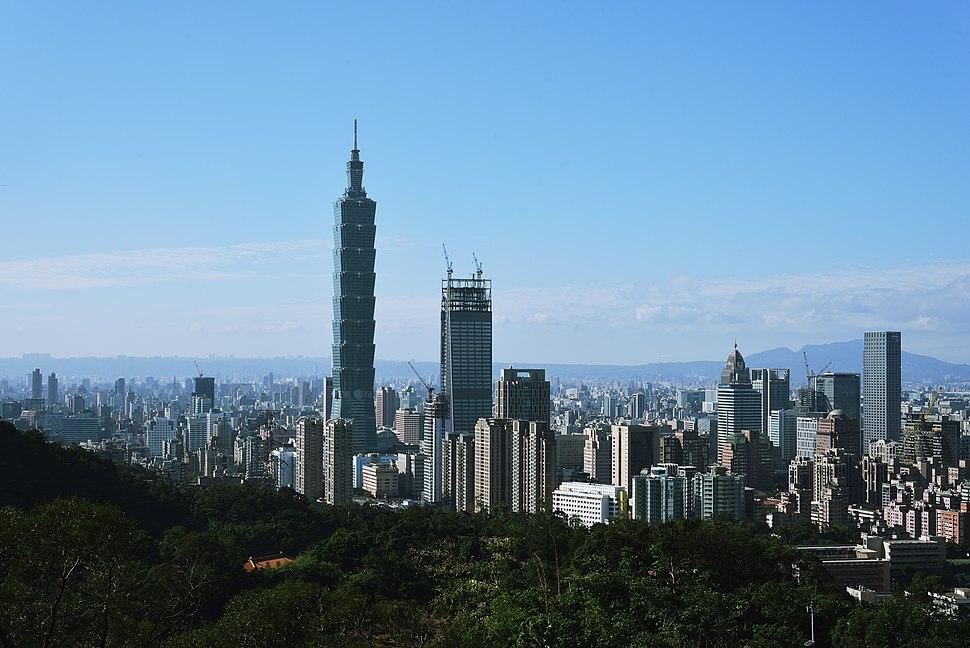 Taipei Skyline 2016