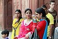 Taking pictures at the Red Fort - Delhi (10067345966).jpg