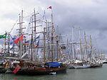 Tall Ships' Races 2013 Helsinki satamaa.JPG