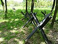 Tank Traps on Battlefield - Battery 411 Memorial - Odessa - Ukraine (26862852752).jpg