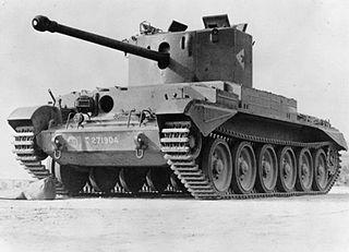 Cruiser Mk VIII Challenger Type of Cruiser tank