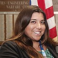 Tara Meyers, physical scientist, NAVFAC EXWC Command Achievement Awards - 14 May 2015 (17325224984) (cropped).jpg