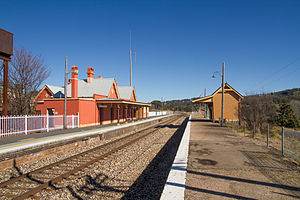 Tarana, New South Wales - Tarana railway station