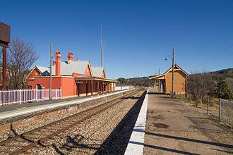 Tarana, New South Wales - Tarana railway station