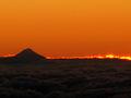 Taranaki sunset 27 April 2005 - Flickr - PhillipC.jpg