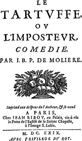 Image illustrative de l'article Tartuffe ou l'Imposteur