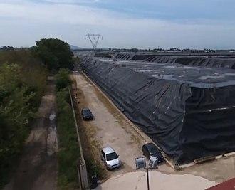 Environmental inequality in Europe - Taverna del Re hazardous waste facility, Giugliano