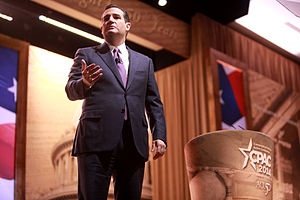 Ted Cruz presidential campaign, 2016 - Senator Cruz speaking at the 2014 Conservative Political Action Conference (CPAC) in National Harbor, Maryland
