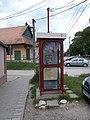 Telekom phone booth, post office, 2020 Nagykovácsi.jpg