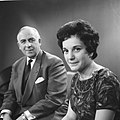 Televisieopname van Anneke Beekman en Louis Frequin, Bestanddeelnr 913-2478.jpg
