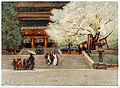 Temple at Nikko Japan by Robert W Allan.jpg