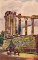 Templo de Diana em Évora (Roque Gameiro, Quadros da História de Portugal, 1917).png