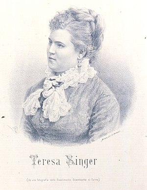 Theresia Singer - Image: Teresa Singer