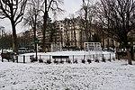 Terrain de jeu, jardin du Ranelagh, neige, Paris 16e.jpg