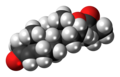 Testosterone isobutyrate molecule spacefill.png