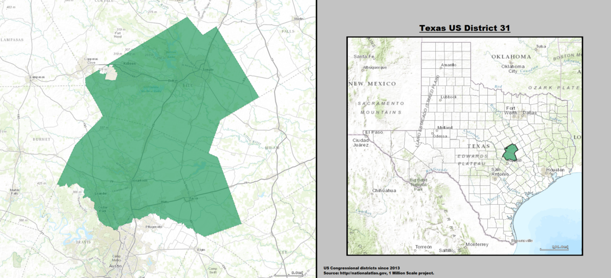 Texas\'s 31st congressional district - Wikipedia