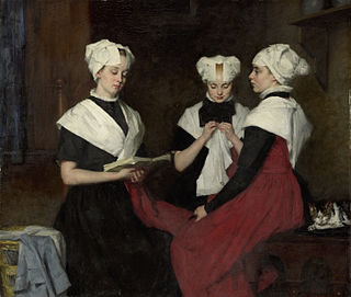 Amsterdamse Joffers Group of 19th century Dutch women artists