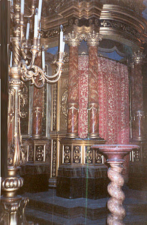 History of the Jews in Ancona - The Ark of the synagogue 12