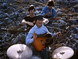 Help! (film) - Screenshot of The Beatles in Help!