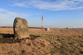 The Cat Stane, at Edinburgh Airport