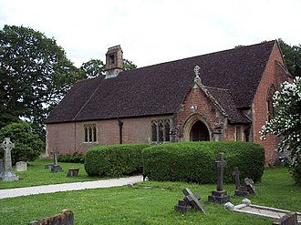 Woodlands, Dorset - Image: The Church of the Ascension, Woodlands geograph.org.uk 474105