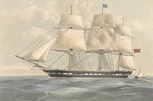 Dunbar (ship) - Image: The Dunbar 1321 Tons RMG py 0629 (cropped)