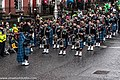 The FDNY EMS Pipes and Drums Band Took Part In The New York Parade On Sunday And Then Jetted To Dublin To March In Dublin On Sunday (8566209540).jpg
