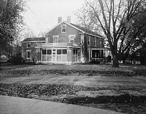 The Farm House (Knapp–Wilson House) - The Farm House in the early twentieth century