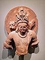 The God Vishnu in Three Incarnations. Northern India (Mathura), Gupta period, mid-5th century AD. Boston Museum.jpg