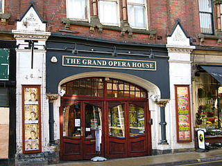 Grand Opera House, York Theatre in the City of York, North Yorkshire, England