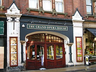 Grand Opera House, York - The Grand Opera House front entrance in 2008.