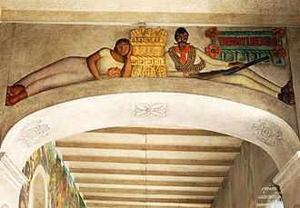 Zapata (lithograph) - Image: The History of Cuernavaca and Morelos