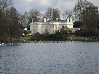 James Burton (property developer) - Burton's mansion, The Holme in Regent's Park, which was built by his company and designed by his son Decimus Burton, has been described as 'one of the most desirable private homes in London' by architectural scholar Guy Williams, and 'a definition of Western civilization in a single view' by architectural critic Ian Nairn