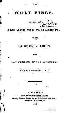 Index:The Holy Bible (Webster's) pdf - Wikisource, the free
