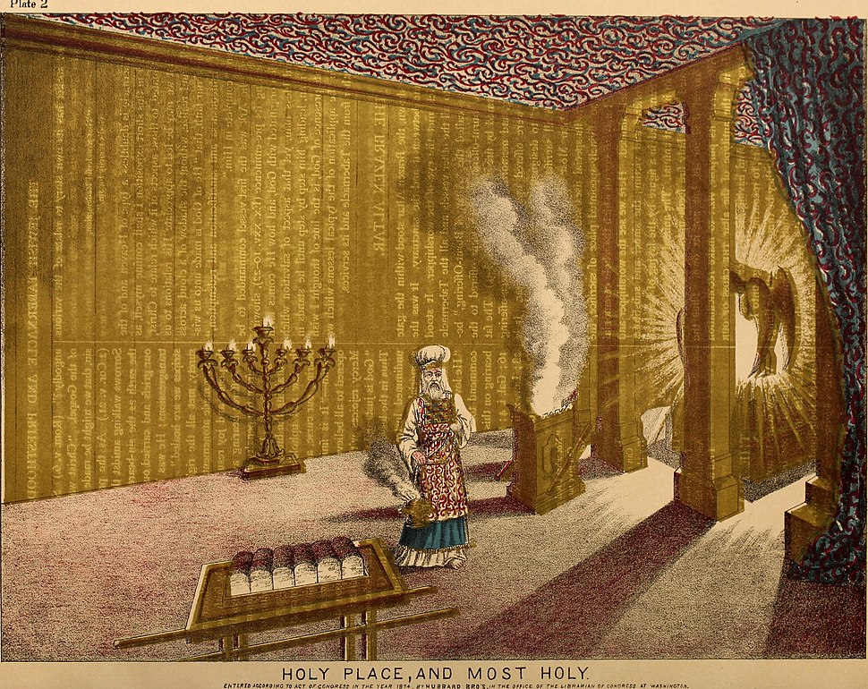 The Jewish tabernacle and priesthood (1874) (14781992135)