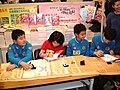 The Million Primary School's braintrusts in a book exhibition - 3.JPG