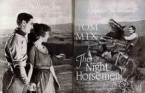The Night Horsemen - Advertisement