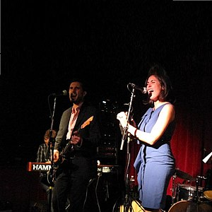 The One & Nines - Image: The One And Nines live at Maxwells