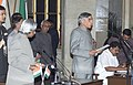 The President Dr.A.P.J.Abdul Kalam administering the Oath (Minister of State) to Shri Pawan Kumar Bansal, in New Delhi on January 29,2006.jpg