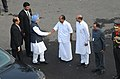 The Prime Minister, Dr. Manmohan Singh being received by the Defence Minister, Shri A. K. Antony on his arrival at Red Fort, on the occasion of the 64th Independence Day, in Delhi on August 15, 2010.jpg