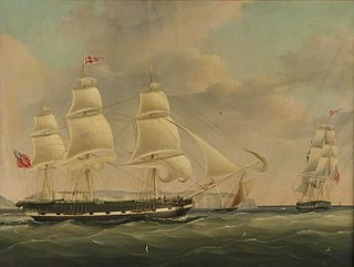 <i>Isabella</i> (1818 ship) merchant ship built on the Thames, England, and launched in 1818