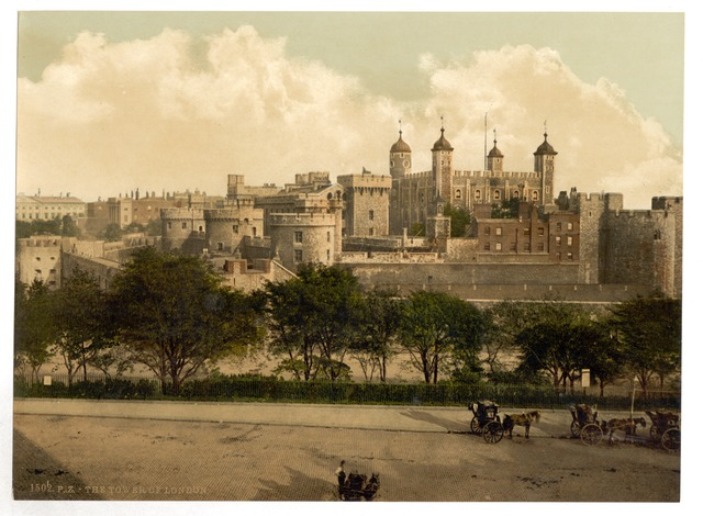 Tower of London en 1900
